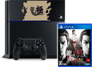 PlayStation®4 龍が如く 極 Edition(ジェット・ブラック) & PS4®版「龍が如く 極」ソフトセット